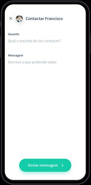 Enviar mensagens;